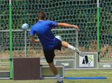 Voley kicks with Football Jumpeak 213