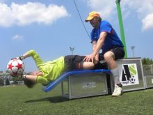 Use of mats - soccer training
