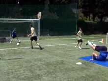 Fußballtrainings mit Football Jumpeak 213
