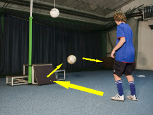 Football (soccer) Jumpeak 213 - rebound board